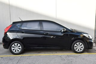 2016 Hyundai Accent RB4 MY16 Active Black 6 Speed Manual Hatchback