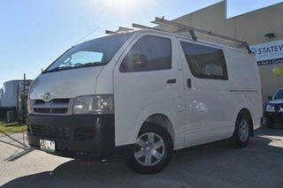 2006 Toyota HiAce TRH201R MY07 LWB White 5 Speed Manual Van