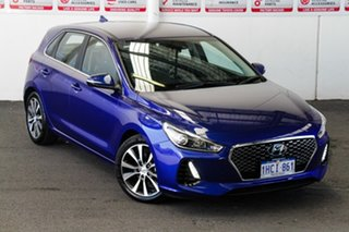 2020 Hyundai i30 PD2 MY20 Elite Blue 6 Speed Automatic Hatchback.