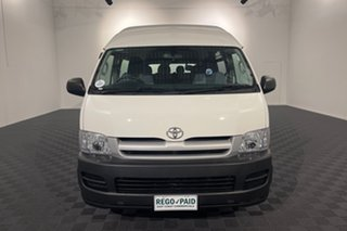 2006 Toyota HiAce TRH223R Commuter High Roof Super LWB French Vanilla 4 speed Automatic Bus.