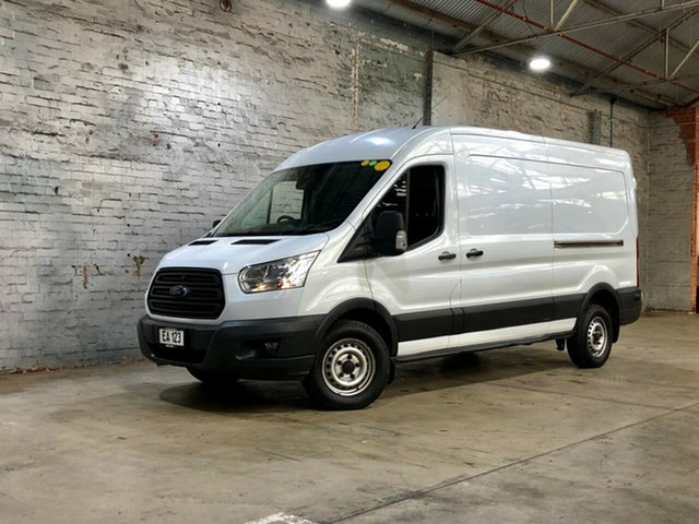 Used Ford Transit VO 350L (Mid Roof) Brooklyn, 2015 Ford Transit VO 350L (Mid Roof) White 6 Speed Manual Van