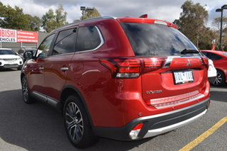 2018 Mitsubishi Outlander ZL MY18.5 Exceed AWD Red 6 Speed Sports Automatic Wagon.