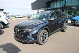 2021 Hyundai Tucson NX4.V1 MY22 Highlander AWD Deep Sea 8 Speed Sports Automatic Wagon.