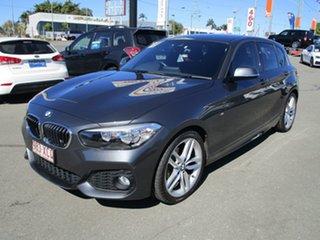 2017 BMW 1 Series F20 LCI 118i Steptronic Sport Line Grey 8 Speed Sports Automatic Hatchback.