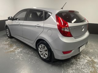 2016 Hyundai Accent RB3 MY16 Active Ironman Silver 6 Speed Constant Variable Hatchback