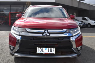 2018 Mitsubishi Outlander ZL MY18.5 Exceed AWD Red 6 Speed Sports Automatic Wagon
