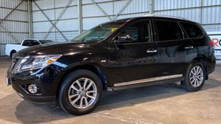 2013 Nissan Pathfinder R52 MY14 ST-L X-tronic 2WD Black 1 Speed Constant Variable Wagon.