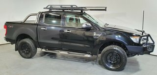 2014 Ford Ranger PX XLT Double Cab Black 6 Speed Manual Utility