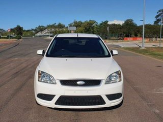 2008 Ford Focus LT CL White 4 Speed Sports Automatic Hatchback.