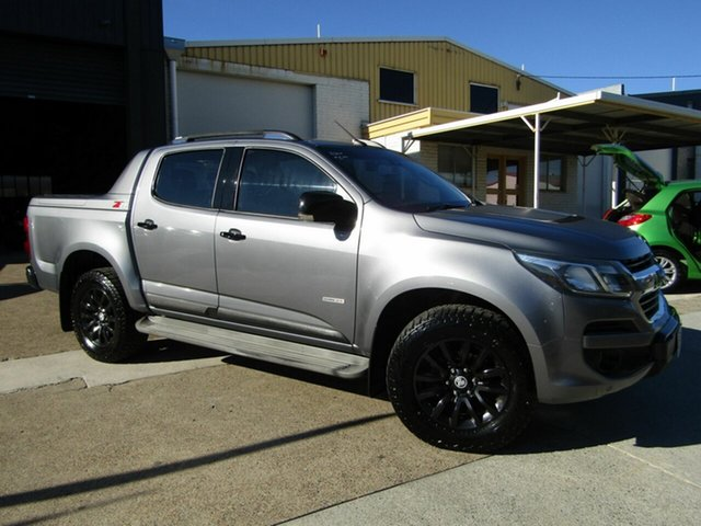 Used Holden Colorado RG MY18 Z71 Pickup Crew Cab Moorooka, 2017 Holden Colorado RG MY18 Z71 Pickup Crew Cab Grey 6 Speed Sports Automatic Utility