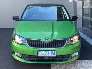 2016 Skoda Fabia NJ MY17 66TSI Green 5 Speed Manual Hatchback.