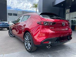 2021 Mazda 3 BP2HL6 G25 SKYACTIV-MT GT Red 6 Speed Manual Hatchback.