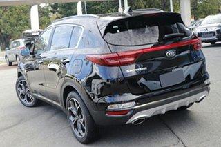 2021 Kia Sportage QL MY21 GT-Line AWD Black Cherry 6 Speed Sports Automatic Wagon.