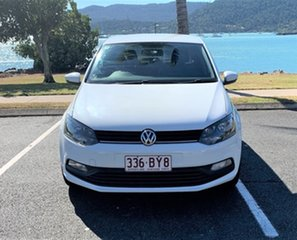 2015 Volkswagen Polo MY15 Trendline Alaskan White Automatic Hatchback.