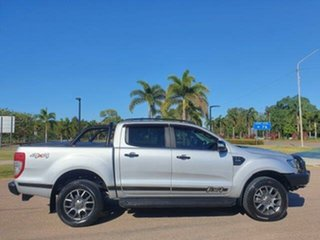 2017 Ford Ranger PX MkII XLT Double Cab Ingot Silver 6 Speed Sports Automatic Utility