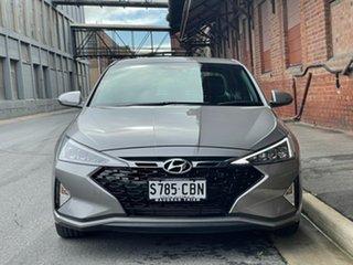 2019 Hyundai Elantra AD.2 MY19 Sport DCT Fluidic Metal 7 Speed Sports Automatic Dual Clutch Sedan.