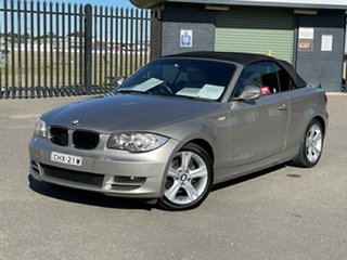 2010 BMW 120i E88 MY10 120i Beige 6 Speed Automatic Convertible.
