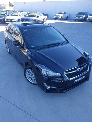 Used Subaru Impreza G4 MY14 2.0i-S Lineartronic AWD Liverpool, 2015 Subaru Impreza G4 MY14 2.0i-S Lineartronic AWD Black 6 Speed Constant Variable Hatchback