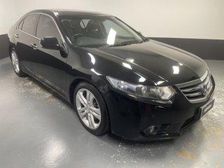 2013 Honda Accord Euro CU MY13 Luxury Black 5 Speed Automatic Sedan.