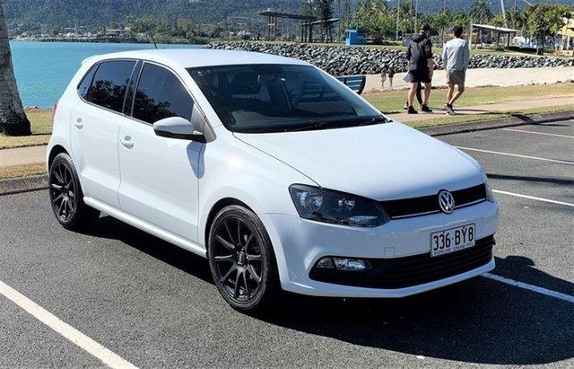 Used Volkswagen Polo MY15 Trendline Proserpine, 2015 Volkswagen Polo MY15 Trendline Alaskan White Automatic Hatchback