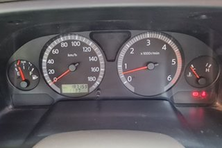 2004 Nissan Patrol GU IV MY05 ST Blue 5 Speed Manual Wagon