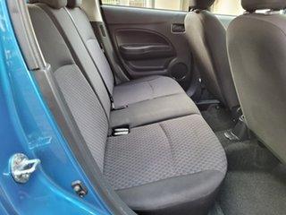 2018 Mitsubishi Mirage LA MY18 ES Blue 1 Speed Constant Variable Hatchback
