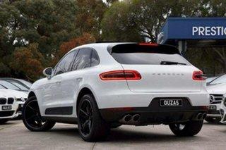 2015 Porsche Macan 95B MY15 S PDK AWD Diesel White 7 Speed Sports Automatic Dual Clutch Wagon.