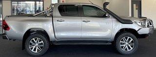 2016 Toyota Hilux GUN126R SR5 Double Cab Silver 6 Speed Manual Utility.