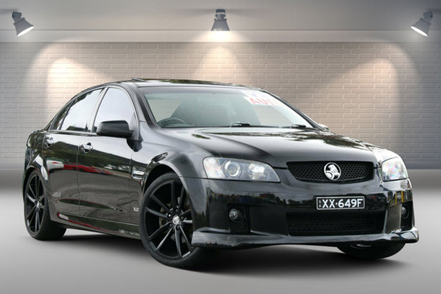 Used Holden Commodore VE MY09 SS V 60th Anniversary Gepps Cross, 2008 Holden Commodore VE MY09 SS V 60th Anniversary Black 6 Speed Sports Automatic Sedan