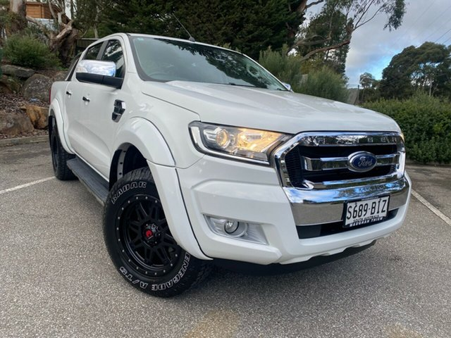 Used Ford Ranger PX MkII XLT Double Cab Totness, 2016 Ford Ranger PX MkII XLT Double Cab White 6 Speed Sports Automatic Utility