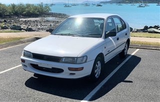 1994 Holden Nova 00.5MY SLX Alaskan White 5 Speed Manual Hatchback.