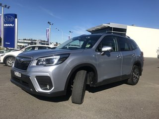 2021 Subaru Forester S5 MY21 2.5i-L CVT AWD Ice Silver 7 Speed Constant Variable Wagon.