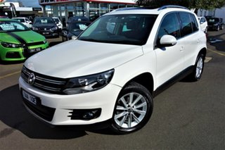 2013 Volkswagen Tiguan 5N MY13.5 155TSI DSG 4MOTION White 7 Speed Sports Automatic Dual Clutch Wagon.