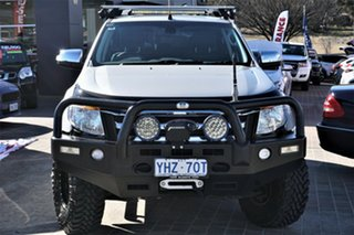 2012 Ford Ranger PX XLT Double Cab Silver 6 Speed Sports Automatic Utility.