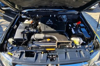 2008 Mitsubishi Pajero NT MY09 R Black 5 Speed Sports Automatic Hardtop