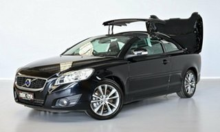 2010 Volvo C70 M Series MY10 S Black 5 Speed Sports Automatic Convertible.