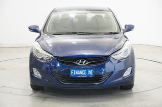 2012 Hyundai Elantra MD Elite Blue 6 Speed Manual Sedan.