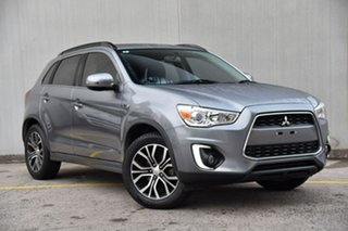 2016 Mitsubishi ASX XB MY15.5 LS 2WD Silver 6 Speed Constant Variable Wagon.