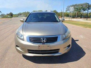 2010 Honda Accord 8th Gen MY10 VTi Bold Beig 5 Speed Sports Automatic Sedan.