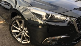 2018 Mazda 3 BN5238 SP25 SKYACTIV-Drive Astina Black 6 Speed Sports Automatic Sedan.