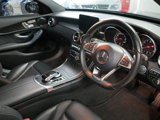 2017 Mercedes-Benz C-Class W205 807+057MY C200 9G-Tronic Black 9 Speed Sports Automatic Sedan