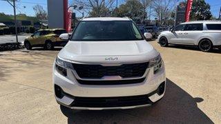 2021 Kia Seltos SP2 MY22 Sport+ DCT AWD Snow White Pearl 7 Speed Sports Automatic Dual Clutch Wagon.