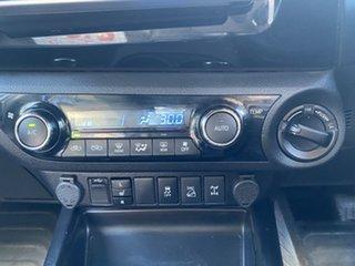 2018 Toyota Hilux GUN126R Rugged X (4x4) Silver Sky 6 Speed Automatic Dual Cab Utility