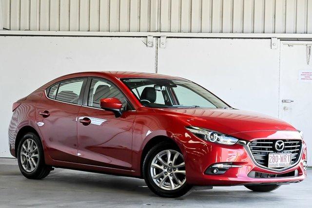 Used Mazda 3 BM5276 Maxx SKYACTIV-MT Laverton North, 2016 Mazda 3 BM5276 Maxx SKYACTIV-MT Red 6 Speed Manual Sedan