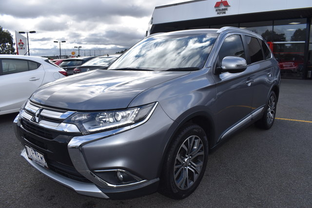 Used Mitsubishi Outlander ZK MY18 LS AWD Wantirna South, 2017 Mitsubishi Outlander ZK MY18 LS AWD Grey 6 Speed Constant Variable Wagon