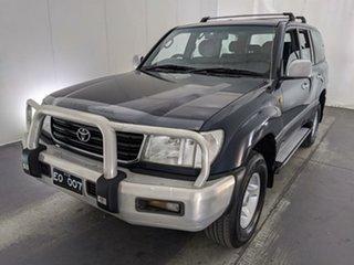 2001 Toyota Landcruiser FZJ105R GXL Blue 5 Speed Manual Wagon.