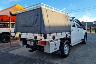 2017 Isuzu D-MAX MY17 SX Crew Cab White 6 Speed Manual Cab Chassis