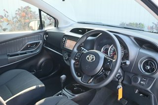 2019 Toyota Yaris NCP130R Ascent Pearl 4 Speed Automatic Hatchback