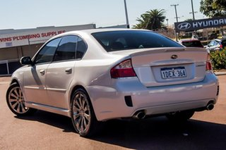 2007 Subaru Liberty B4 MY07 GT AWD Spec.B White 5 Speed Sports Automatic Sedan.