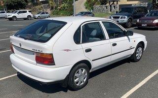 1994 Holden Nova 00.5MY SLX Alaskan White 5 Speed Manual Hatchback